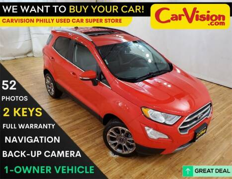 2019 Ford EcoSport for sale at Car Vision Mitsubishi Norristown - Car Vision Philly Used Car SuperStore in Philadelphia PA