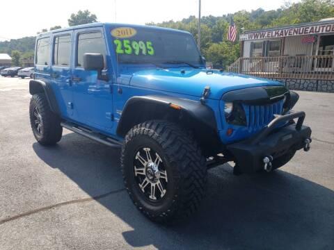 2011 Jeep Wrangler Unlimited for sale at Elk Avenue Auto Brokers in Elizabethton TN