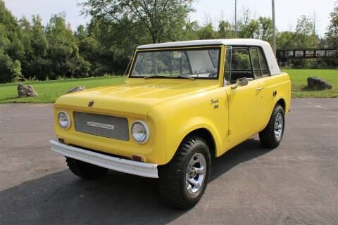 1967 International Scout 800A for sale at Great Lakes Classic Cars & Detail Shop in Hilton NY