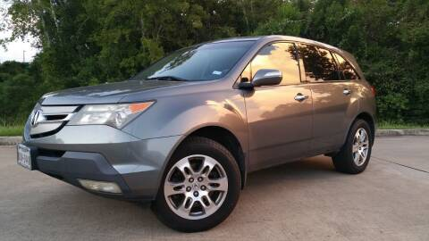 2009 Acura MDX for sale at Houston Auto Preowned in Houston TX