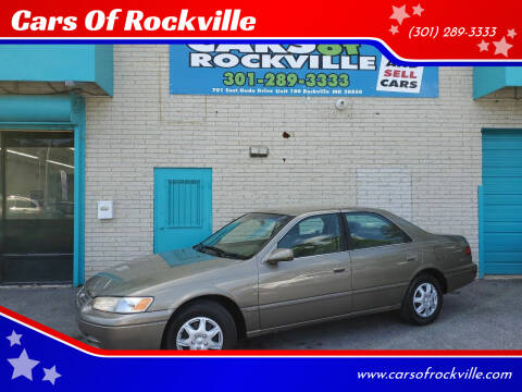1999 Toyota Camry for sale at Cars Of Rockville in Rockville MD