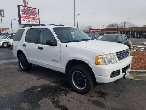 2005 Ford Explorer for sale at ATLAS MOTORS INC in Salt Lake City UT