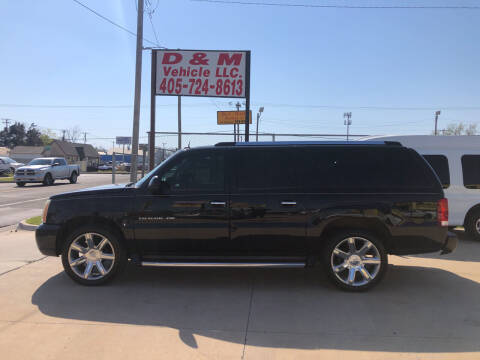 2004 Cadillac Escalade ESV for sale at D & M Vehicle LLC in Oklahoma City OK
