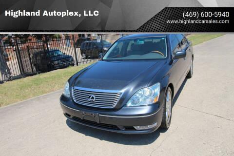 2005 Lexus LS 430 for sale at Highland Autoplex, LLC in Dallas TX