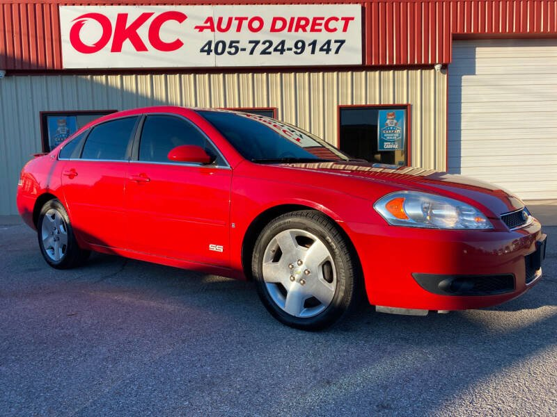 2007 Chevrolet Impala for sale at OKC Auto Direct in Oklahoma City OK
