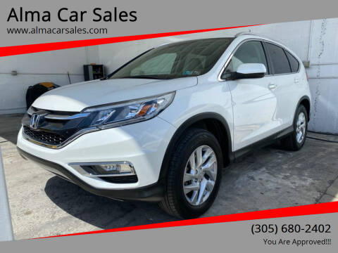 2015 Honda CR-V for sale at Alma Car Sales in Miami FL