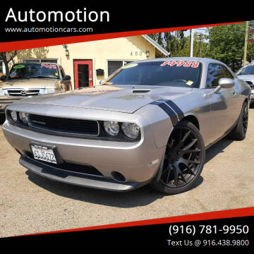 2011 Dodge Challenger for sale at Automotion in Roseville CA