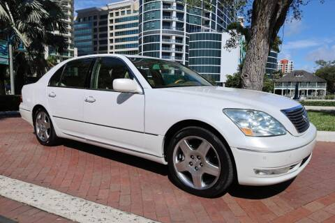 2006 Lexus LS 430 for sale at Choice Auto in Fort Lauderdale FL