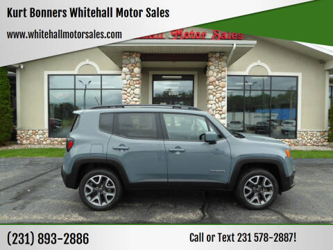 2017 Jeep Renegade for sale at Kurt Bonners Whitehall Motor Sales in Whitehall MI