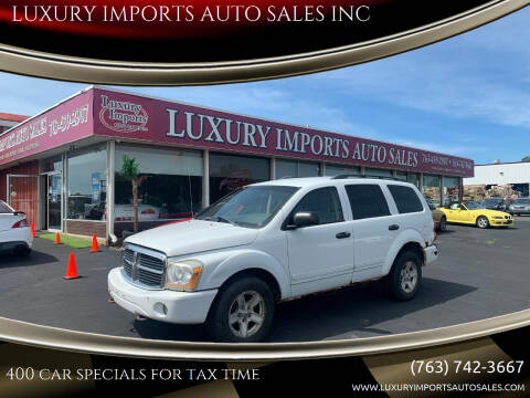2005 Dodge Durango for sale at LUXURY IMPORTS AUTO SALES INC in North Branch MN