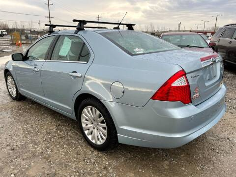 2011 Ford Fusion Hybrid for sale at Via Roma Auto Sales in Columbus OH