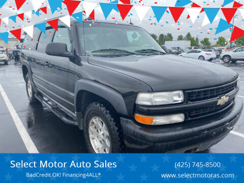 2005 Chevrolet Suburban for sale at Select Motor Auto Sales in Lynnwood WA