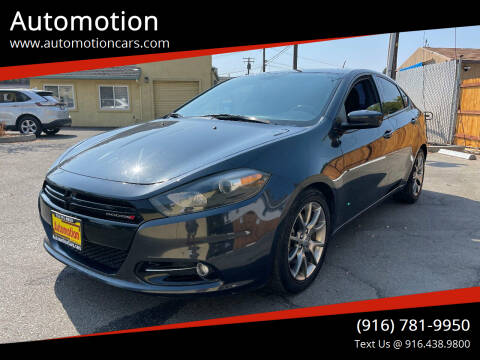 2014 Dodge Dart for sale at Automotion in Roseville CA