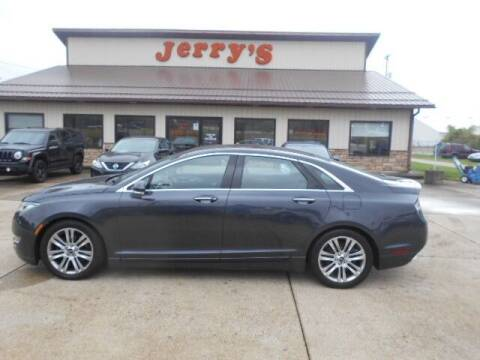 2013 Lincoln MKZ for sale at Jerry's Auto Mart in Uhrichsville OH