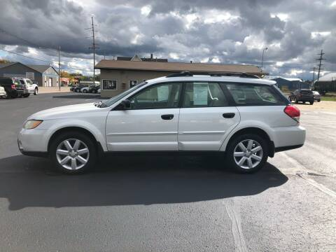 2009 Subaru Outback for sale at Mike's Budget Auto Sales in Cadillac MI