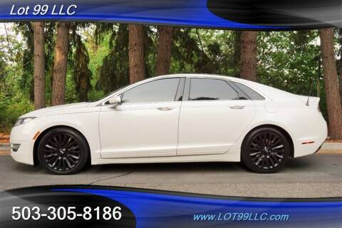 2013 Lincoln MKZ for sale at LOT 99 LLC in Milwaukie OR