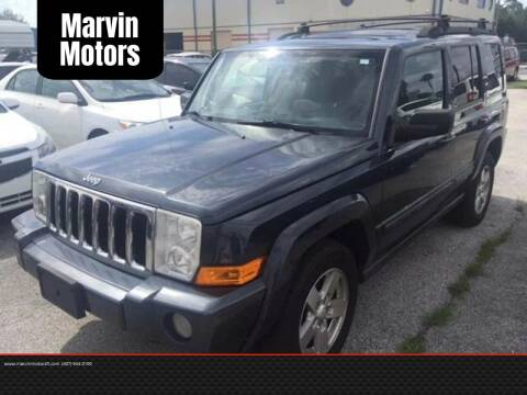 2007 Jeep Commander for sale at Marvin Motors in Kissimmee FL
