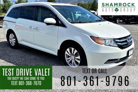 2017 Honda Odyssey for sale at Shamrock Group LLC #1 in Pleasant Grove UT