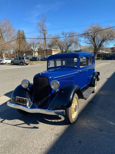 1933 Plymouth PD for sale at California Automobile Museum in Sacramento CA