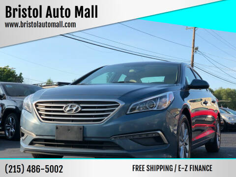 2015 Hyundai Sonata for sale at Bristol Auto Mall in Levittown PA