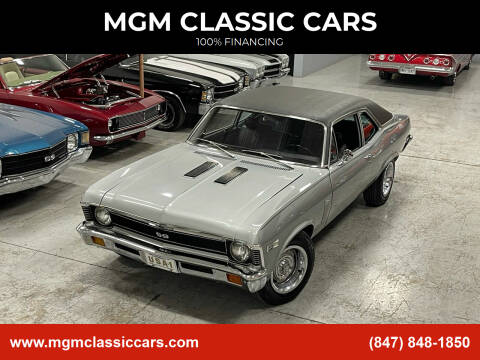 1972 Chevrolet Nova for sale at MGM CLASSIC CARS in Addison, IL