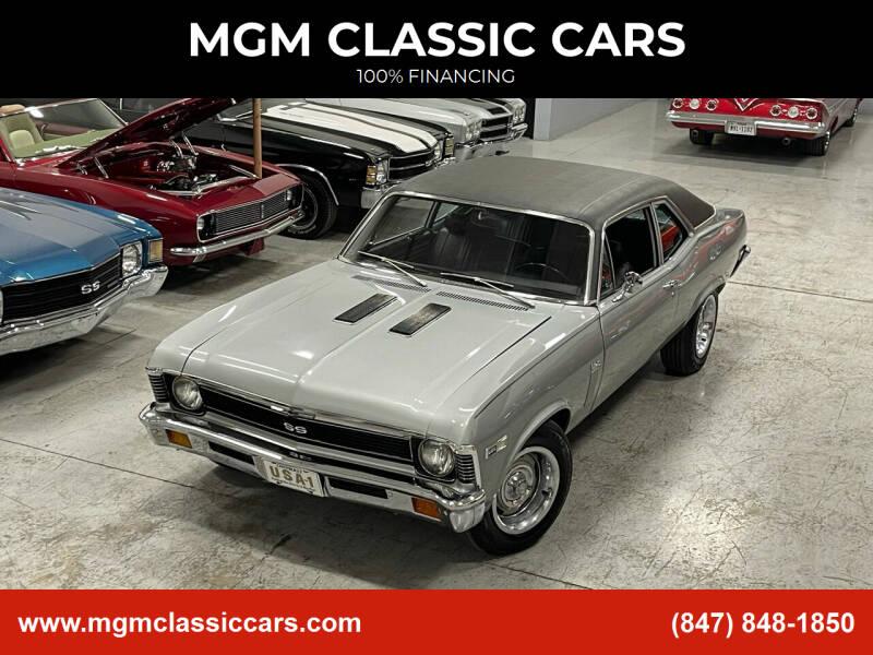 1972 Chevrolet Nova for sale at MGM CLASSIC CARS in Addison, IL