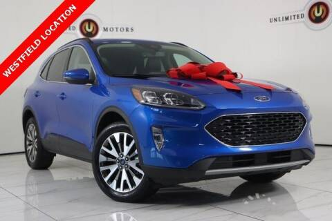2020 Ford Escape for sale at INDY'S UNLIMITED MOTORS - UNLIMITED MOTORS in Westfield IN