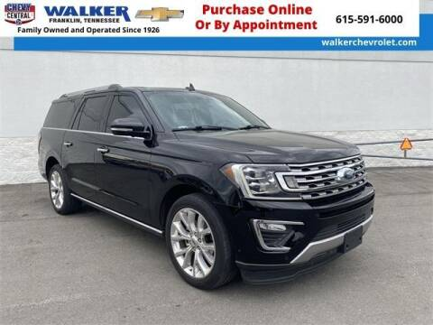 2018 Ford Expedition MAX for sale at WALKER CHEVROLET in Franklin TN
