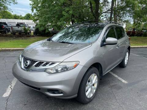 2012 Nissan Murano for sale at Car Plus Auto Sales in Glenolden PA