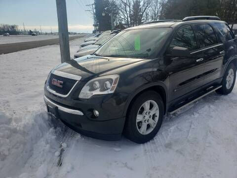 2009 GMC Acadia for sale at Northwoods Auto & Truck Sales in Machesney Park IL