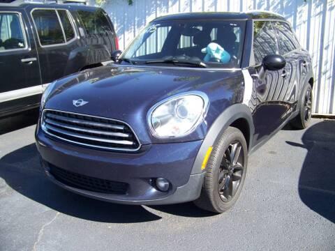 2011 MINI Cooper Countryman for sale at Collector Car Co in Zanesville OH
