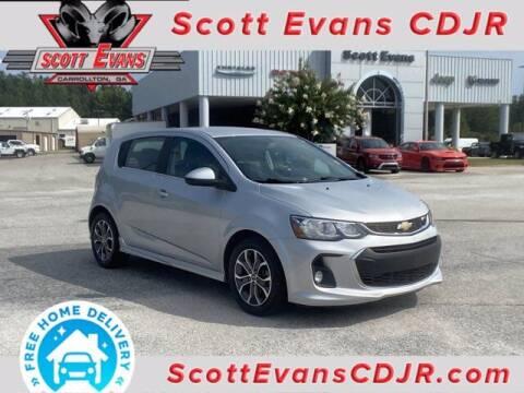 2017 Chevrolet Sonic for sale at SCOTT EVANS CHRYSLER DODGE in Carrollton GA