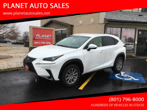2019 Lexus NX 300 for sale at PLANET AUTO SALES in Lindon UT