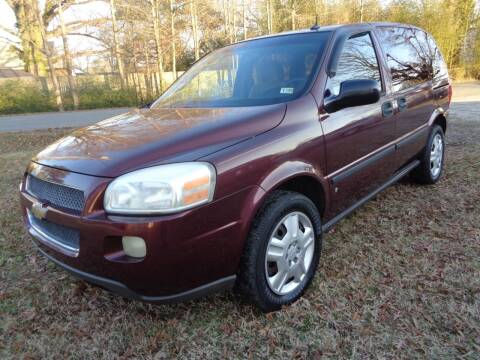 2006 Chevrolet Uplander for sale at Liberty Motors in Chesapeake VA