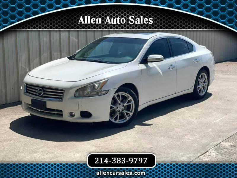 2012 Nissan Maxima for sale at Allen Auto Sales in Dallas TX