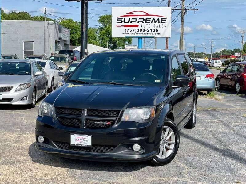 2014 Dodge Grand Caravan for sale at Supreme Auto Sales in Chesapeake VA