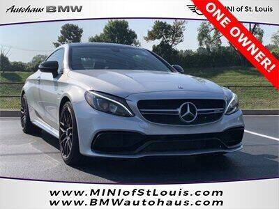 2017 Mercedes-Benz C-Class for sale at Autohaus Group of St. Louis MO - 3015 South Hanley Road Lot in Saint Louis MO