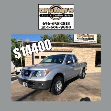 2018 Nissan Frontier for sale at CRUMP'S AUTO & TRAILER SALES in Crystal City MO