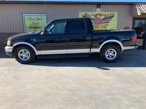 2001 Ford F-150 for sale at BIG 'S' AUTO & TRACTOR SALES in Blanchard OK