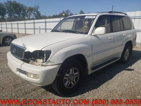 2000 Lexus LX 470 for sale at East Coast Auto Source Inc. in Bedford VA