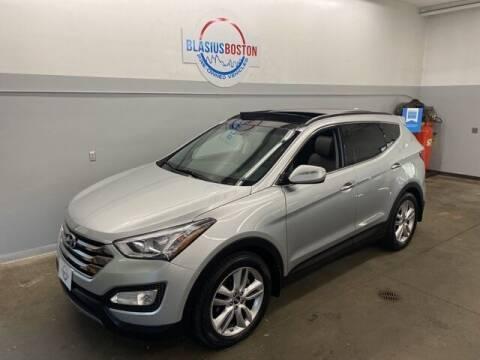 2015 Hyundai Santa Fe Sport for sale at WCG Enterprises in Holliston MA