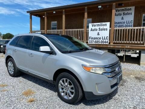 2011 Ford Edge for sale at Vermilion Auto Sales & Finance in Erath LA