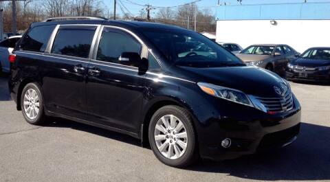 2015 Toyota Sienna for sale at Morristown Auto Sales in Morristown TN