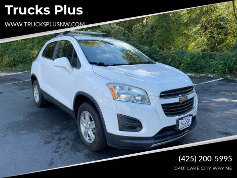 2015 Chevrolet Trax for sale at Trucks Plus in Seattle WA