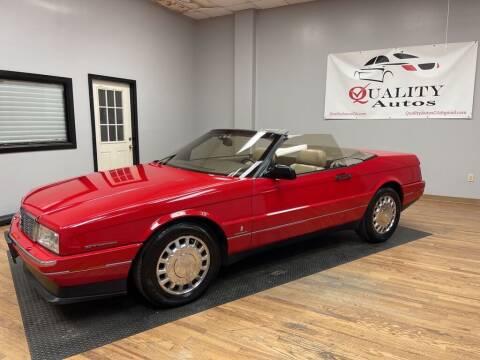 1993 Cadillac Allante for sale at Quality Autos in Marietta GA