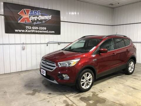 2018 Ford Escape for sale at Karl Pre-Owned in Glidden IA