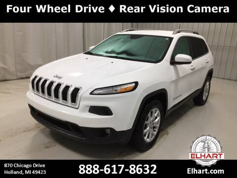 2016 Jeep Cherokee for sale at Elhart Automotive Campus in Holland MI