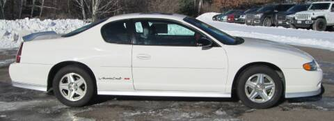 2003 Chevrolet Monte Carlo for sale at The AUTOHAUS LLC in Tomahawk WI