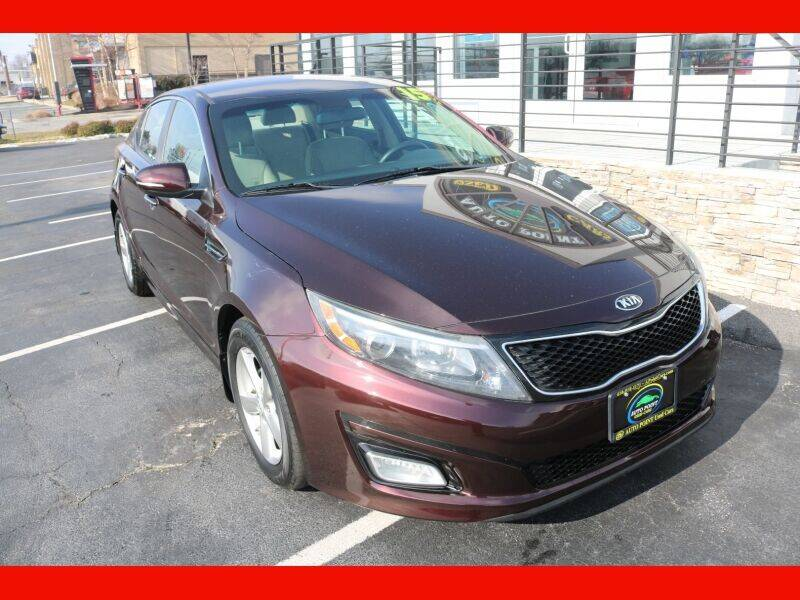 2015 Kia Optima for sale at AUTO POINT USED CARS in Rosedale MD