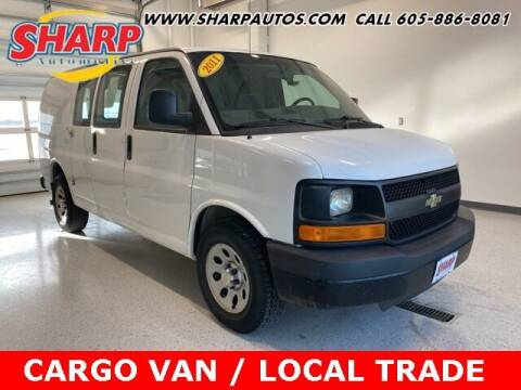 2011 Chevrolet Express Cargo for sale at Sharp Automotive in Watertown SD